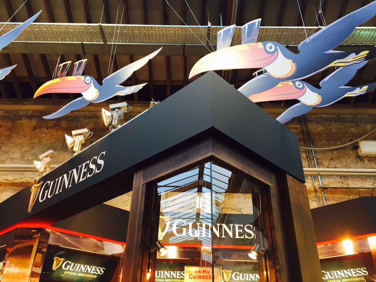 IBE Exhibit - National & International Trade Show Stand Design - Shamrock Gift Co. Guinness RDS Showcase Exhibit - Image