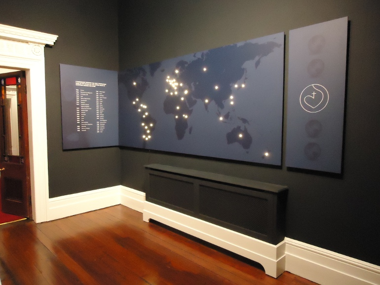 IBE Exhibit - Permanent Exhibition Design - Mount Anville - Image