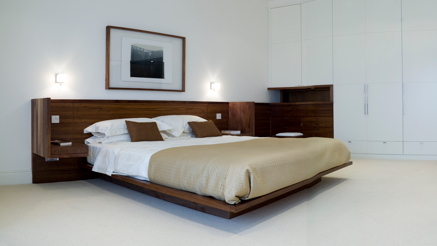 Bespoke Contemporary Bedroom Furniture Design- Penthouse Apartments - Penthouse Master Bedroom Design Photograph