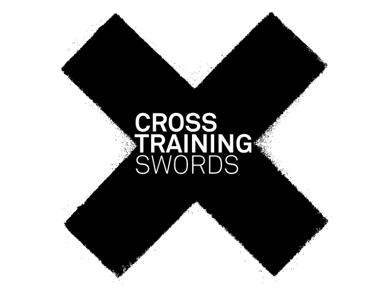 IBE Illustration - Logo Design - Cross Training Swords Logo