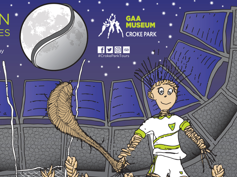 Graphics Illustration - GAA Croke Park Samhain Tours & Tales Theme Halloween Illustration Project