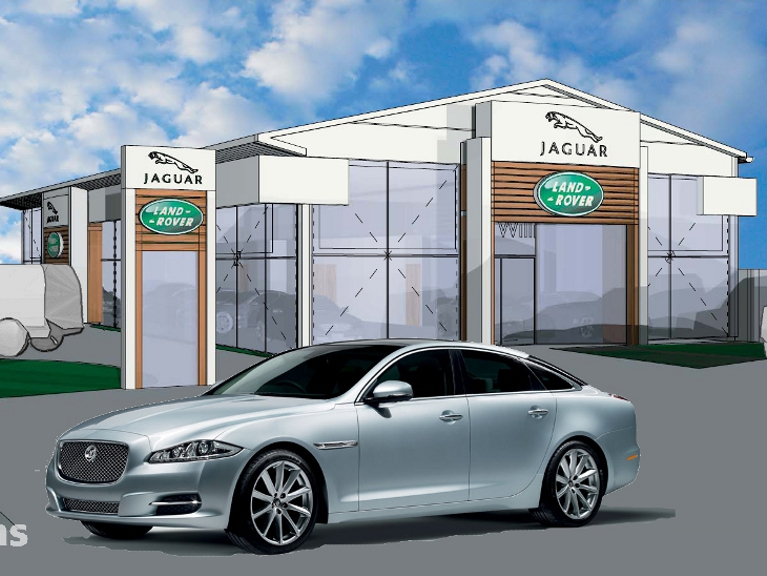 IBE Retail Showroom Design - Annesley Williams Car Showroom Concept 3 - Photograph