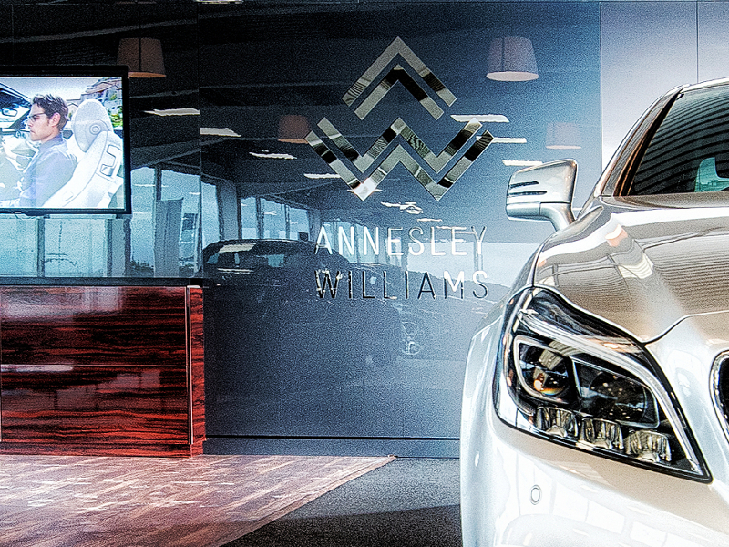 IBE Retail Showroom Design - Annesley Williams Car Showroom Design - Photograph