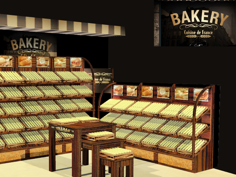 Retail Food & Beverage Display Design - Aryzta Cuisine De France Bakery Display Design 1