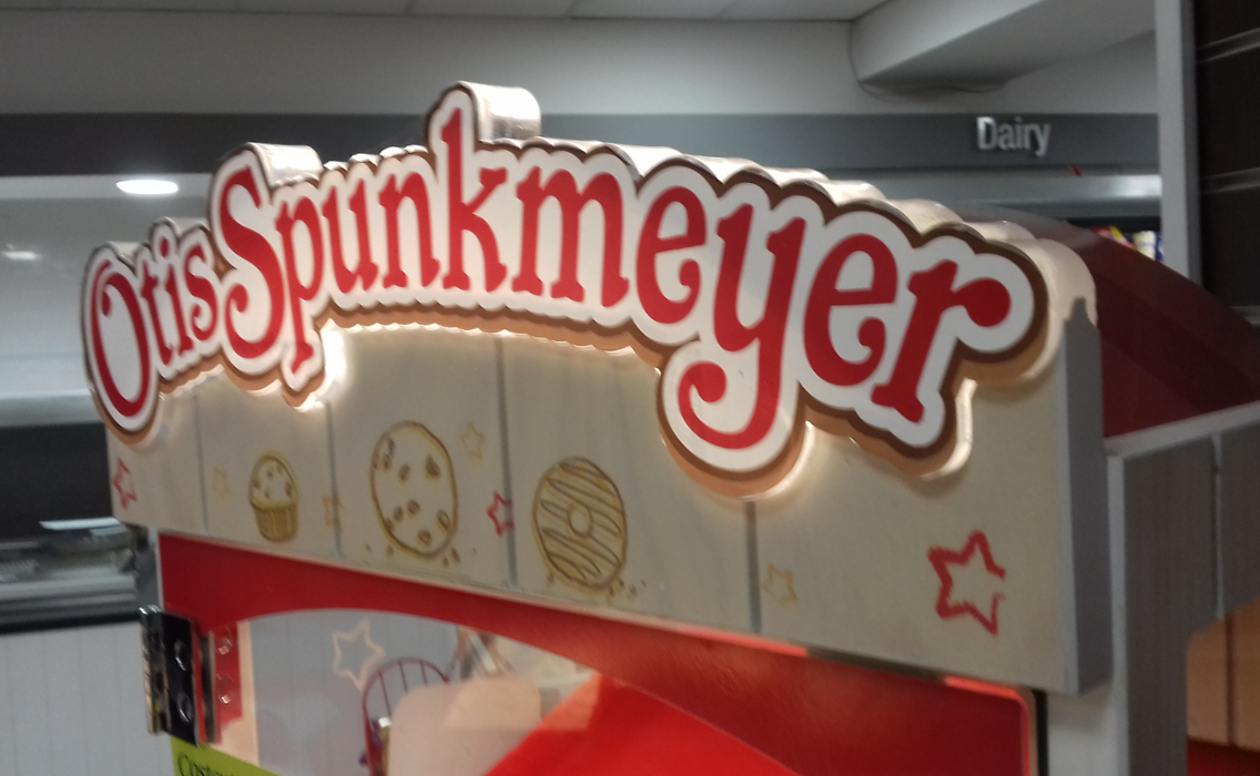 IBE Retail Food & Beverage Display Design - Aryzta Cuisine De France Otis Spunkmeyer Donut Display Design